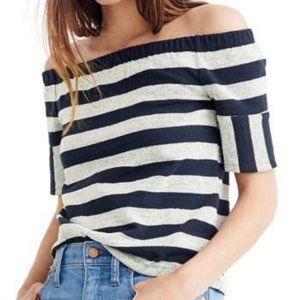 NWOT Madewell Off-The-Shoulder Top